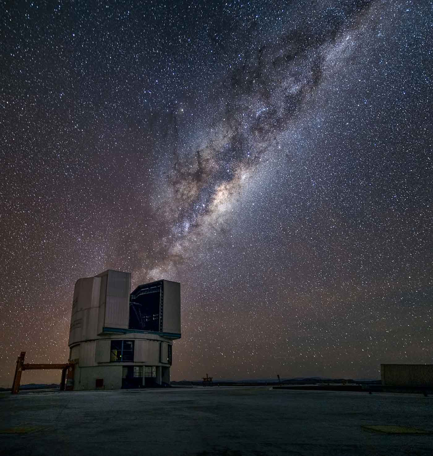 The Milky Way from Chile's Paranal Observatory.