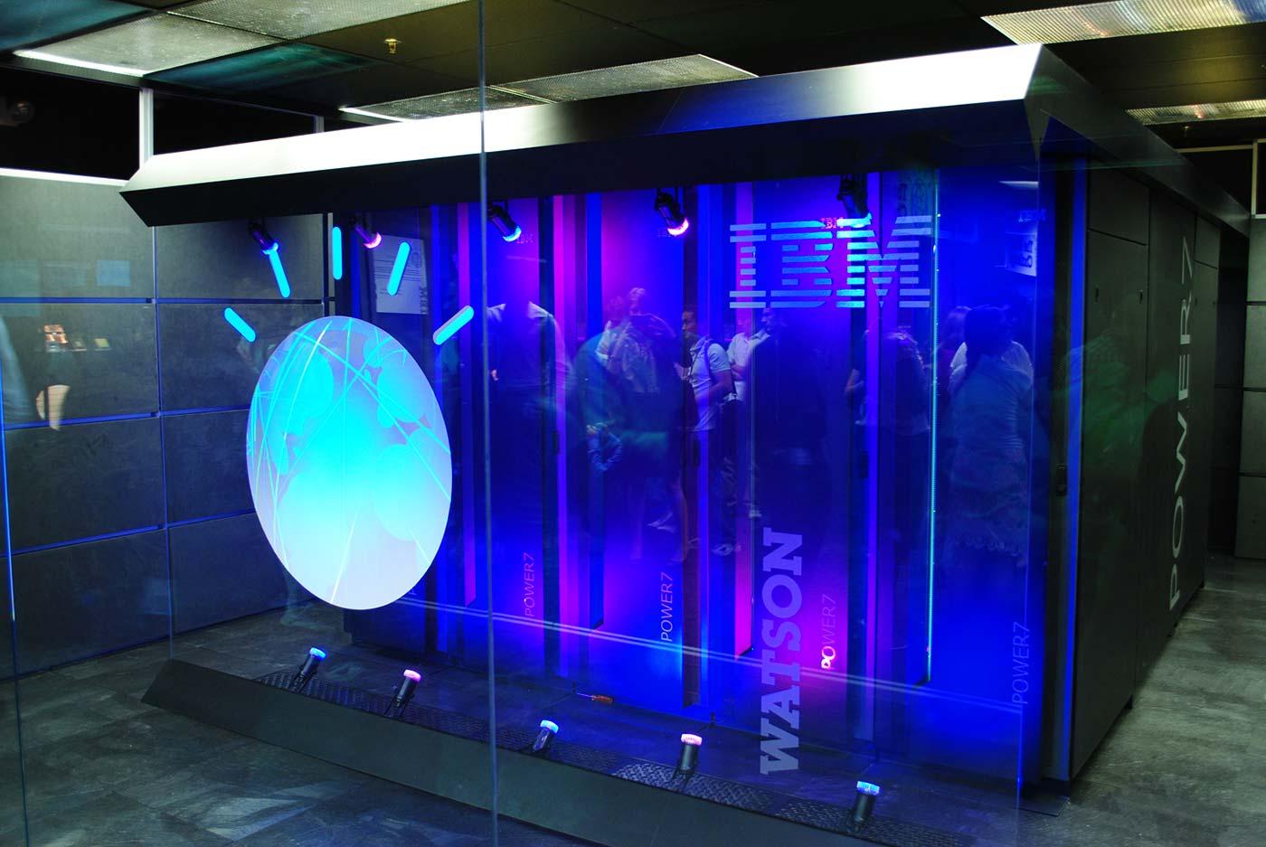 IBM's Watson computer.