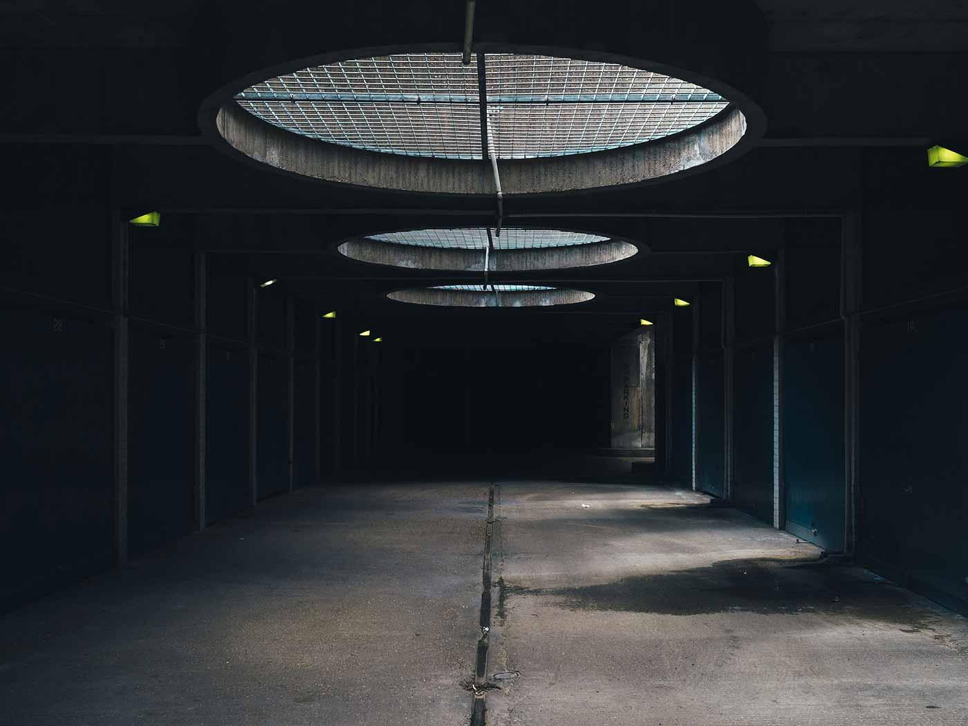 Underground alley