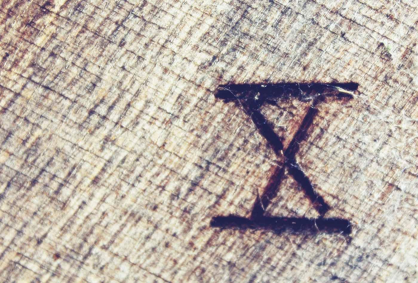 Roman numeral 10.