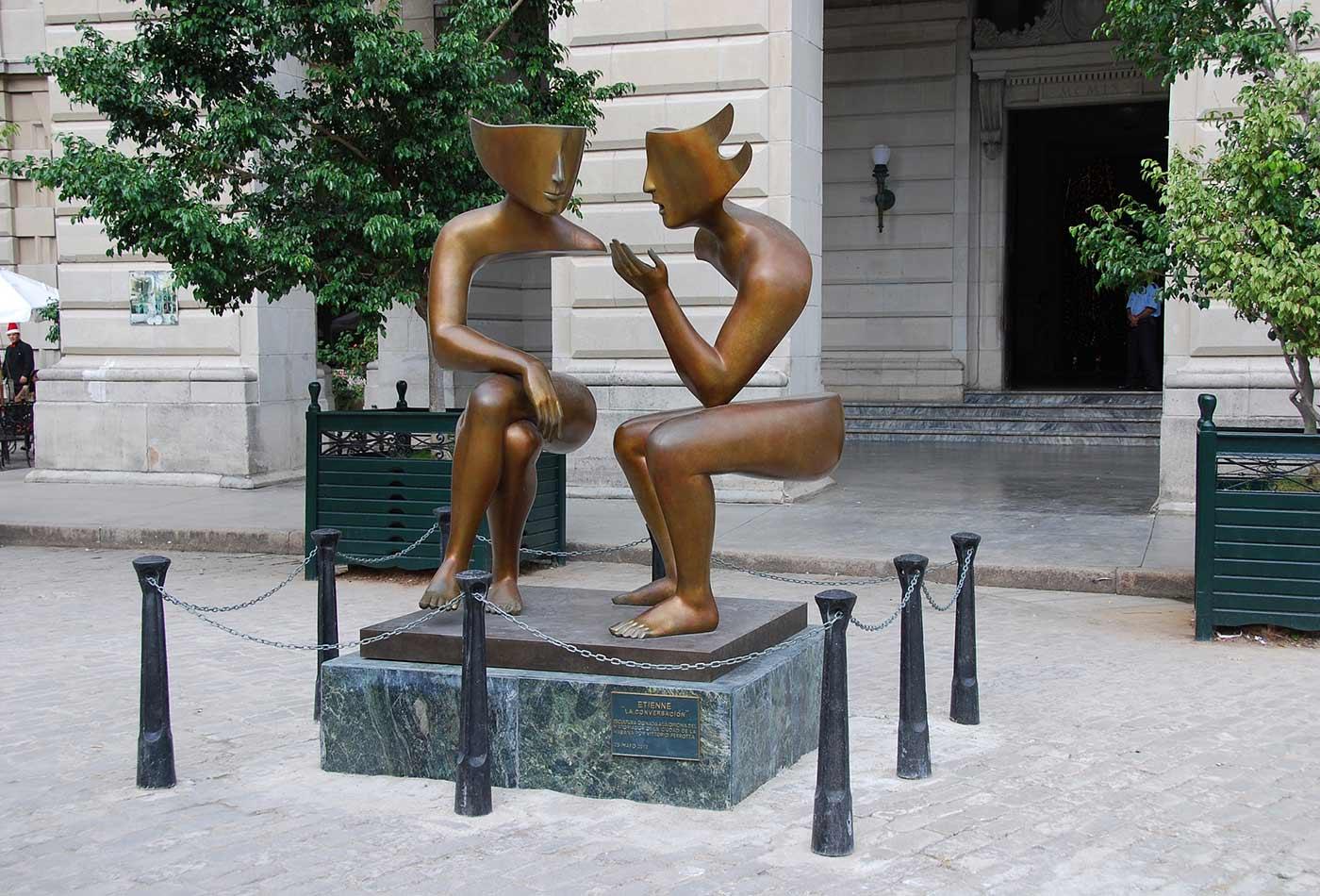 """""""La Conversacion,"""" by Etienne."""