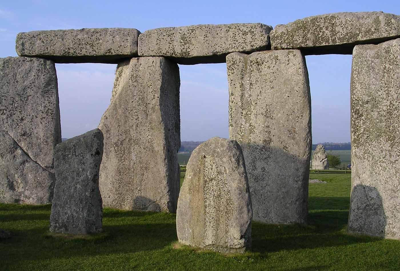 Inner circle at Stonehenge.