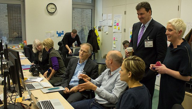 Jen Pahlka and Tim O'Reilly visited the GDS in 2012. That visit inspired the United States Digital Service.