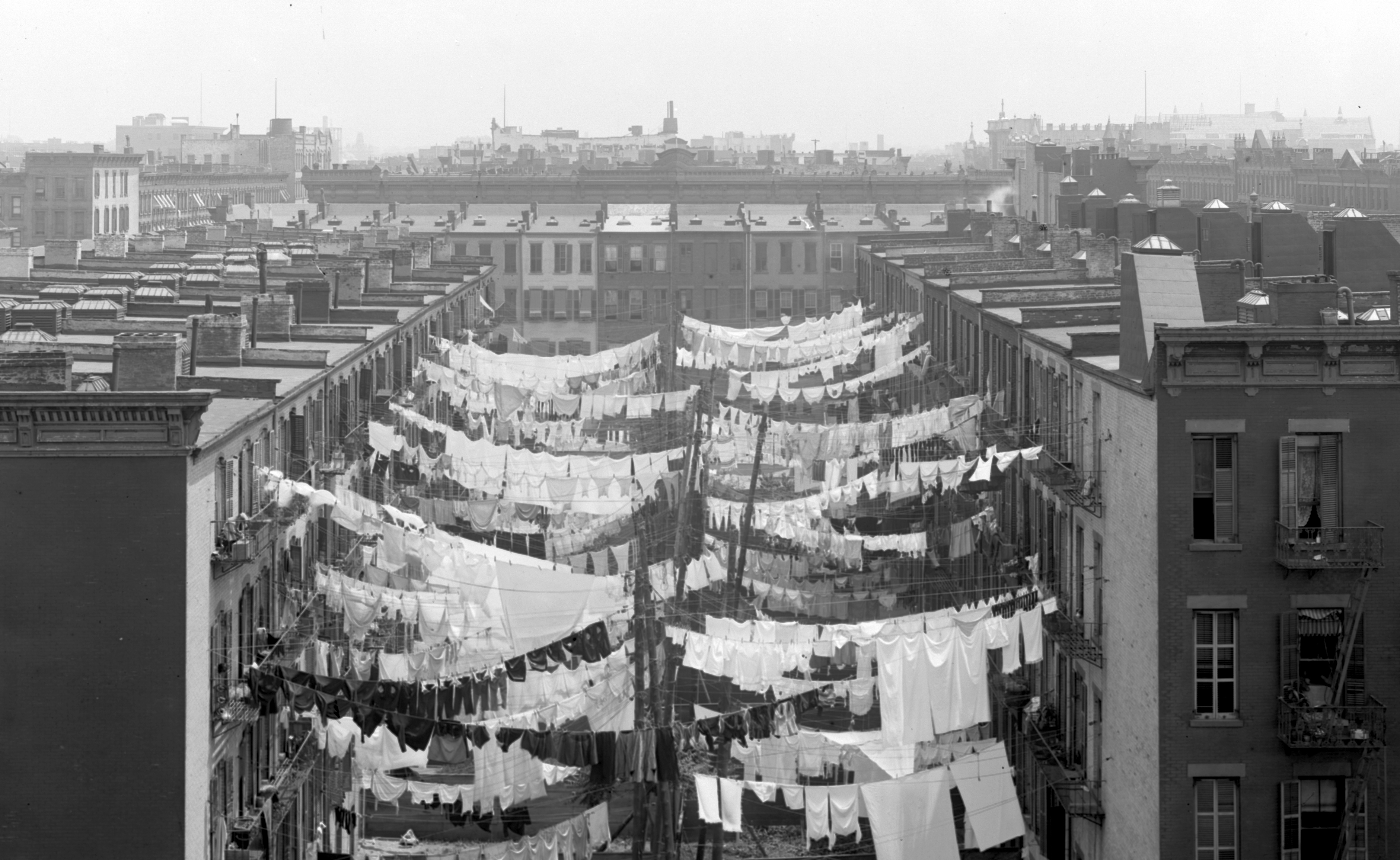 Yard of a Tenement
